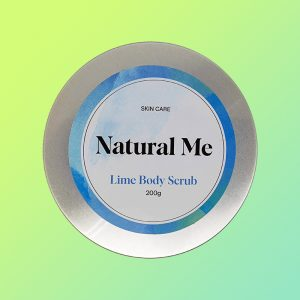 Natural Me - Lime Body Scrub
